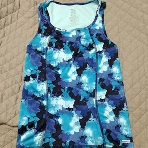 ⬇️ [3/$10] Blue active tank top - XS